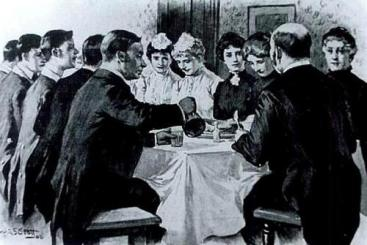 dinner-in-the-servants-hall