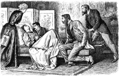 blackdrop fainting-couch-george-du-maurier